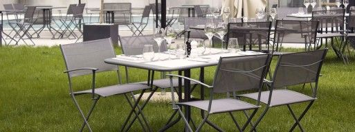 Sling patio furniture should be cleaned before storage to ensure it lasts for years.